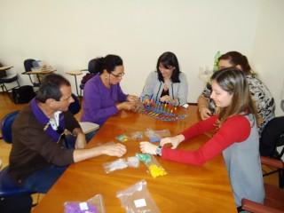 Curso de atualização para professores de Ciências da Natureza sobre o tema ácidos nucleicos, ministrado na cidade de São Carlos.  (2011)