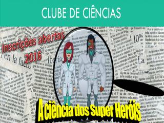 Clube de Ciências – Tema 2016