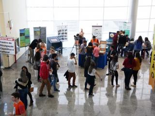 O EIC esteve presente na feira USP e as profissões