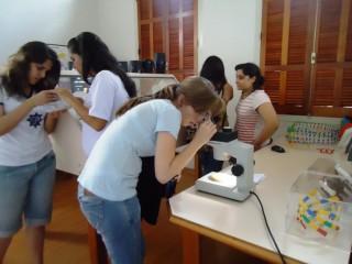 Visitado Colégio Progresso de Araraquara ao Espaço Interativo de Ciências 2013.