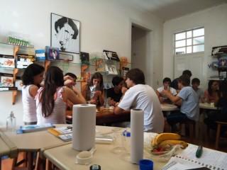 """Oficina """"Construindo a moléculas da vida: DNA e  RNA"""" com os alunos do colégio Progresso Araraquara. (2011)"""