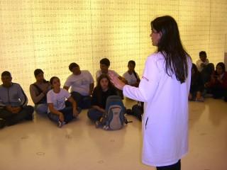 Viagem do Clube de Ciências ao Museu Catavento. (2008)