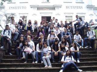 Viagem dos clubistas ao Instituto Butantan em São Paulo. (2009)