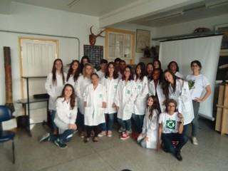 Turma do Clube de Ciências. (2016)