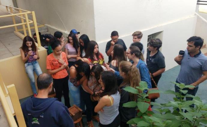 Encontro sobre Abelhas. Clube de Ciências (2017)